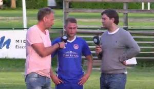 Christoffer Lindgren intervjuas av Jonas Björkgren och Oskar Magnusson.