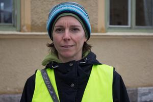 Silke Nordfjäll är missnöjd över hur kommunen skött processen kring Hammarby skola.