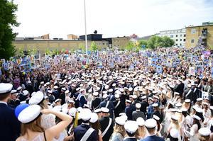 Studentfirandet 2018 i Ö-vik.