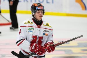 Arvid Aronsson spelar i BIK Karlskoga nästa säsong. Bild: Daniel Stiller/Bildbyrån