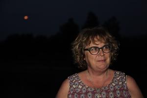 Gabriella Persson Turdell är tillbaka efter evakueringen av Huskölen.