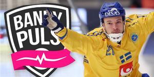 Christoffer Edlund och resten av svenska landslaget ser du på Bandypuls i helgen.