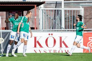 Christian Kouakou och Anton Lundin (till vänster) har båda startat centralt i Brages två senaste matcher. Bild: Bildbyrån