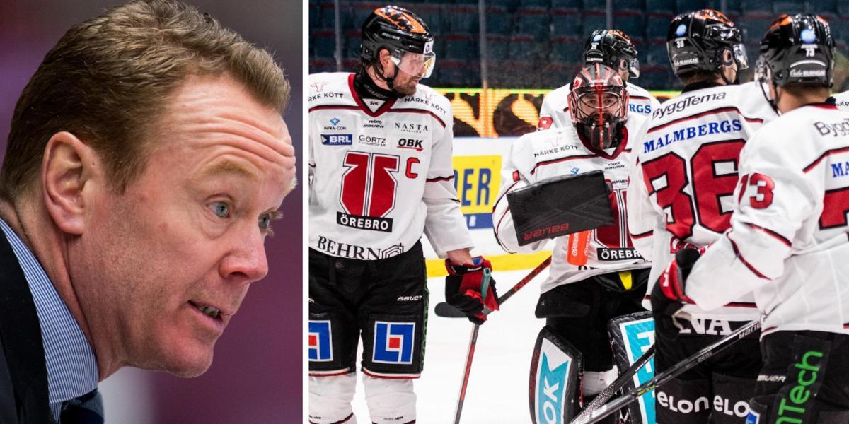 """Örebrotränarens hyllning till laget – efter Enroths sköna nolla: """"Väldigt positivt"""""""