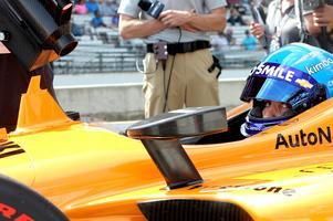 Fernando Alonso fick totalt sex försök i Indy 500-kvalet – fem på lördagen och ett på söndagen – men lyckades inte ta någon av de 33 startplatserna till racet.