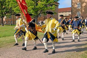 Smålands karoliner kommer att anordna ett eget nationaldagsfirande den 6 juni. Det kommer att livesändas på deras Facebooksida. Bilden är en arkivbild från när Smålands karoliner firade 40 år.