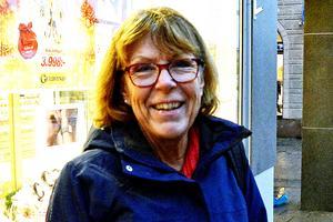 Ann-Kristin Granlund, 64 år, pensionär, Sundsvall: