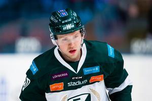 Christopher Bengtssons kontrakt med Färjestad går ut. Skulle han vilja återvända till SSK, efter succésäsongen i klubben förra vintern? Foto: Bildbyrån.