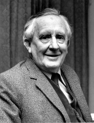 J.R.R. Tolkien, författare till Sagan om Ringen. Foto AP