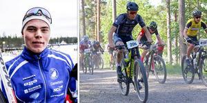 Emil Thyrén har inte stått på ett par skidor sedan Vasaloppet 2018. Nu gör han en satsning på mountainbikecykling.