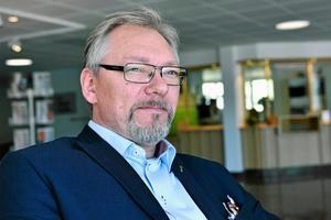 Stefan Linde är kommunchef i Älvdalen och han berättar att Älvdalens kommun redan våren 2016 anmärkte på fakturorna kring resor. Arkivbild tagen av Stefan Rämgård.