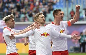 Emil Forsberg räknar med att stanna i Leipzig.