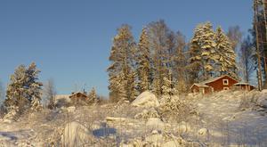 Sol, snö och klarblå himmel