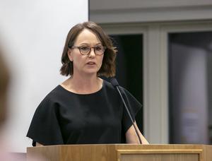 Ulrika Liljeberg förklarade att det är miljö och hälsa som ligger till grund för att ansluta Heden till VA-nätet.