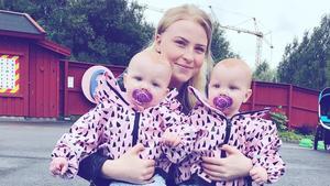 Nu kan Elina Eriksson och hennes barn pusta ut efter den otäcka händelsen.   Foto: Privat