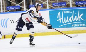 Christoffer jansson är passningskungen – som äntligen fick göra mål också. Det gav en bonuspoäng för Borlänge.