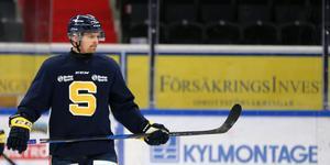 David Berg kommer att spendera resten av säsongen i SSK:s matchställ.
