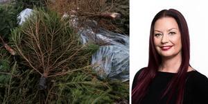 Johanna Göransson, Telge återvinning. Foto: Stina Stjernkvist / TT och Telge återvinning