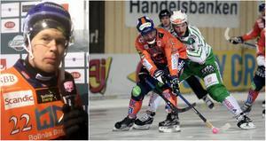 Ville Aaltonen hann hem till mötet med Västerås efter sin tur till Finland.