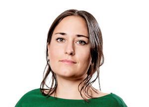 Krönikören Emma Høen Bustos är liberal skribent och återkommande vikarie på DT:s ledarsida. Foto: Anton Ryvang