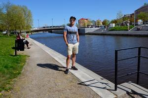 Krögaren Tord Budenberg vill bygga upp ett krogstråk kring Selångersån på sommaren.
