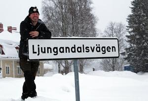 Tommy Isaksson är den som fått Destination Ljungandalens förtroende att leda arbetet med att förlänga Ljungandalsvägen västerut.Foto: Linda Isaksson