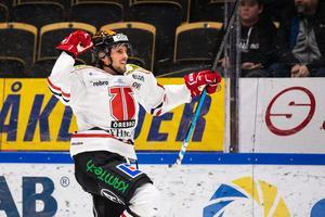 Mathias Bromé är taggad inför matchen mot Leksand. Bild: Ola Westerberg/Bildbyrån