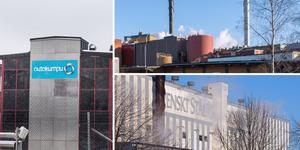 SSAB i Borlänge, Outokompu i Avesta och Stora Enso i Kvarnsveden är anläggningarna som släppte ut mest växthusgaser i Dalarna förra året. Foto: DT Arkiv
