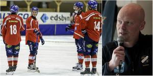 Daniel Välitalo och Daniel Liw kommer hyllas av Edsbyn innan matchen mot Åby/Tjureda på fredag. Marknadschefen Thomas Mårtens hoppas det blir en mäktig inramning.