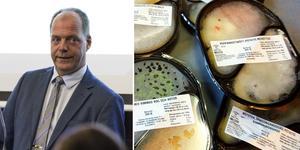 Montage. John-Erik Jansson (C) är kommunalråd i Söderhamn och han förespråkar LOV i matdistributionen till hemtjänstens kunder.