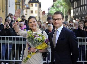 Victoria och hennes Ockelboprins ska besöka Wij Trädgårdar vid deras besök i maj.