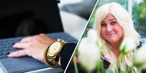 Erika Wängmark lämnade singellivet, lägenheten i Göteborg och chefsjobbet för kärleken i Hälsingland.