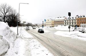 En rad förändringar planeras på sträckan mellan resecentrum och trafikplats Skönsberg.