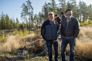 Torsten och Anders Johansson från Fagersta.