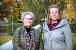 Psykoterapeuten Charlotte Agnevik Jonsson och folkhälsovetaren Jennie Palmberg tycker att man bör vara uppmärksam när en människa plötsligt ändrar sitt beteende, blir manisk, tystlåten, gränslös eller stingslig.