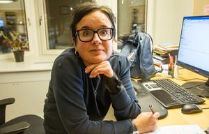 Bibliotekschef Lisa Ångman vill få biblioteket att fungera för alla, genom dialog och att man visar hänsyn mot varandra.