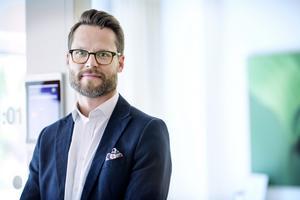 Fredrik Borelius, näringspolitisk expert på Vårdföretagarna. Foto: Pressbild