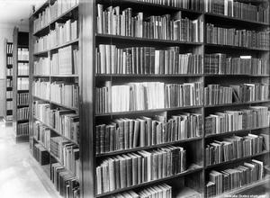 Biblioteket 1930. Foto: Eric Sjöqvist/Örebro stadsarkiv