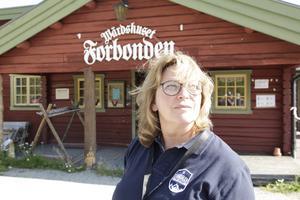 Anna Pettersson är nöjd med helgens arrangemang med 160 starter.