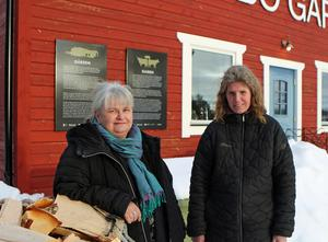 Ingela Fredell, Region Jämtland/Härjedalen, fanns på plats när Anna Bäckström och hennes familj på Nybo gård blev Economusée.