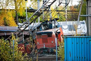 Tågurspårningen i Ludvika den 12 oktober krävde en stor insats av räddningstjänsten.