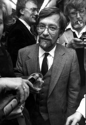Lars Gustafsson 1979. Foto: Ragnhild Haarstad / SvD / SCANPIX