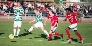 Samuel Holm, här i TV021 Cup mot Hallstahammar.
