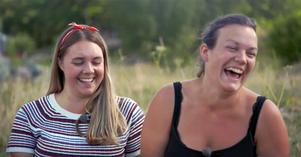 Skogsbonden Per valde tillslut mellan Sofie och Lina, och då blev det Sofie som fick stanna kvar på gården. Foto: TV4