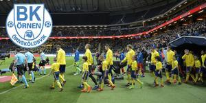 Den 7 juni 20.45 startar matchen mellan Sverige och Malta. Bild: Janerik Henriksson/TT
