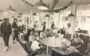 Fritidsavdelningen på Nybyggeskolan 1986. Foto: Lasse Höglund/VLT:s arkiv
