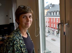 Camilla Nyman driver projektet Demografik.