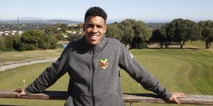 Marco Weymans är nöjd med träningslägret i Marbella. I dag kan han göra sina första minuter i ÖFK-tröjan.