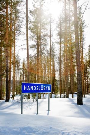 Handsjöbyn. Foto: Ulrika Andersson