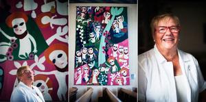 Anita Olofsson är ordförande i Hammerdals konstförening som har 450 medlemmar. Hennes val är Berta Hanssons Livets träd som finns i Hammerdals kyrka.